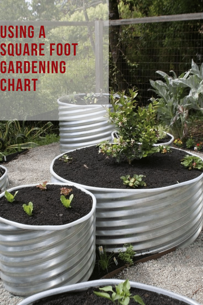 Using a Square Foot Gardening Chart