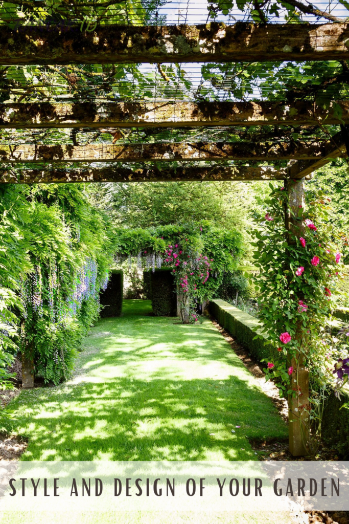 Consider the style and design of your garden