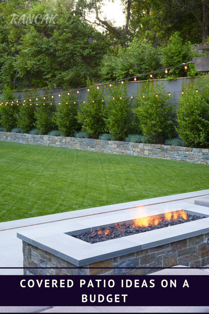 Cover patio ideas on a budget