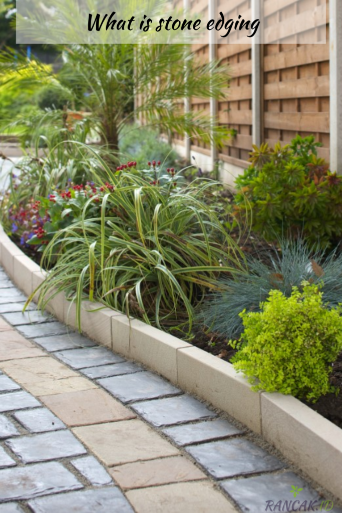 What is stone edging, and why use it in your garden