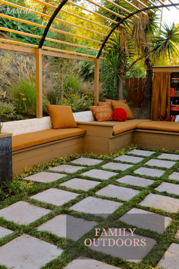Add A Fire Pit To Create An Inviting Space For Entertaining Friends And Family Outdoors.