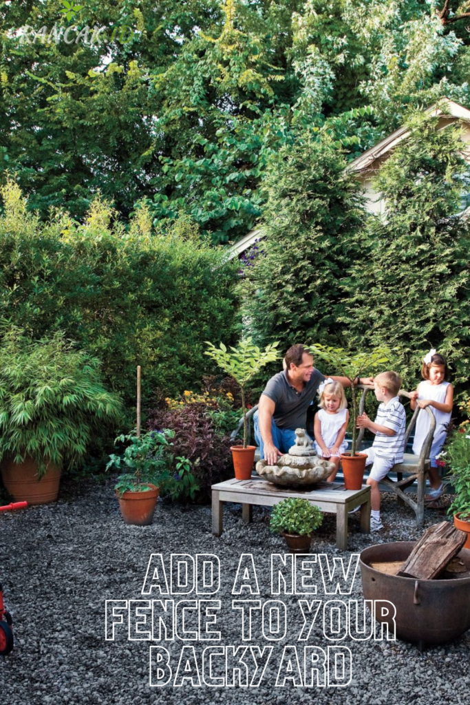 Add A New Fence To Your Backyard For Spring
