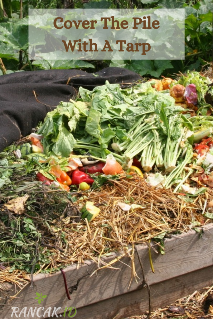 Cover The Pile With A Tarp Or Lid To Keep It From Drying Out