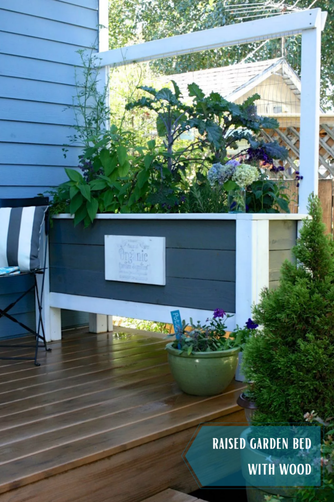How to build a raised garden bed with wood