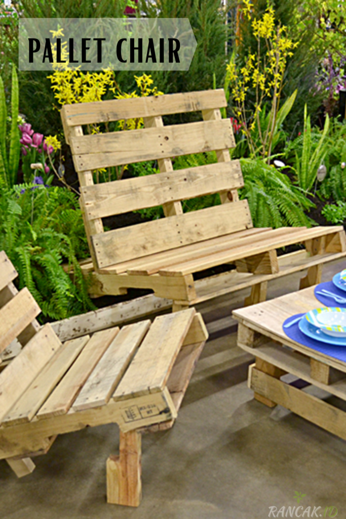 How to make a pallet chair