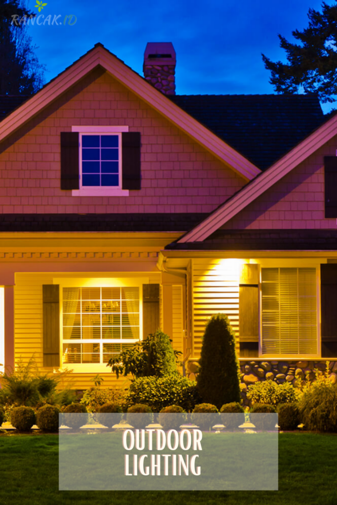 Outdoor lighting can make a home more inviting and livable Outdoor