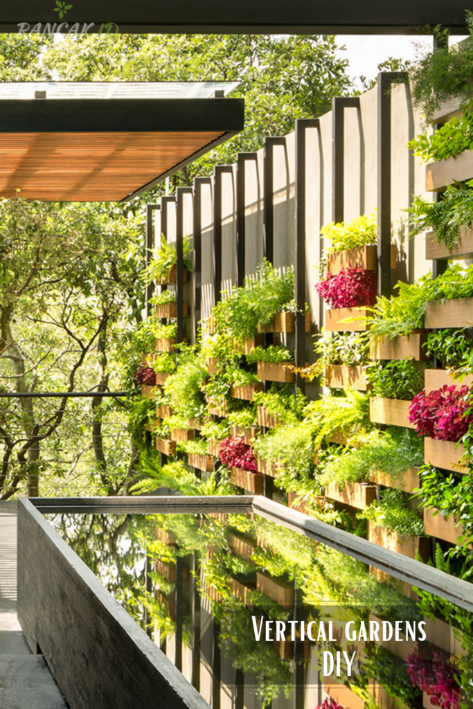 Vertical gardens that are easy to DIY