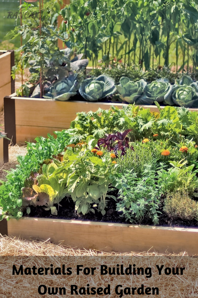 Where Can You Find Materials For Building Your Own Raised Garden Bed_