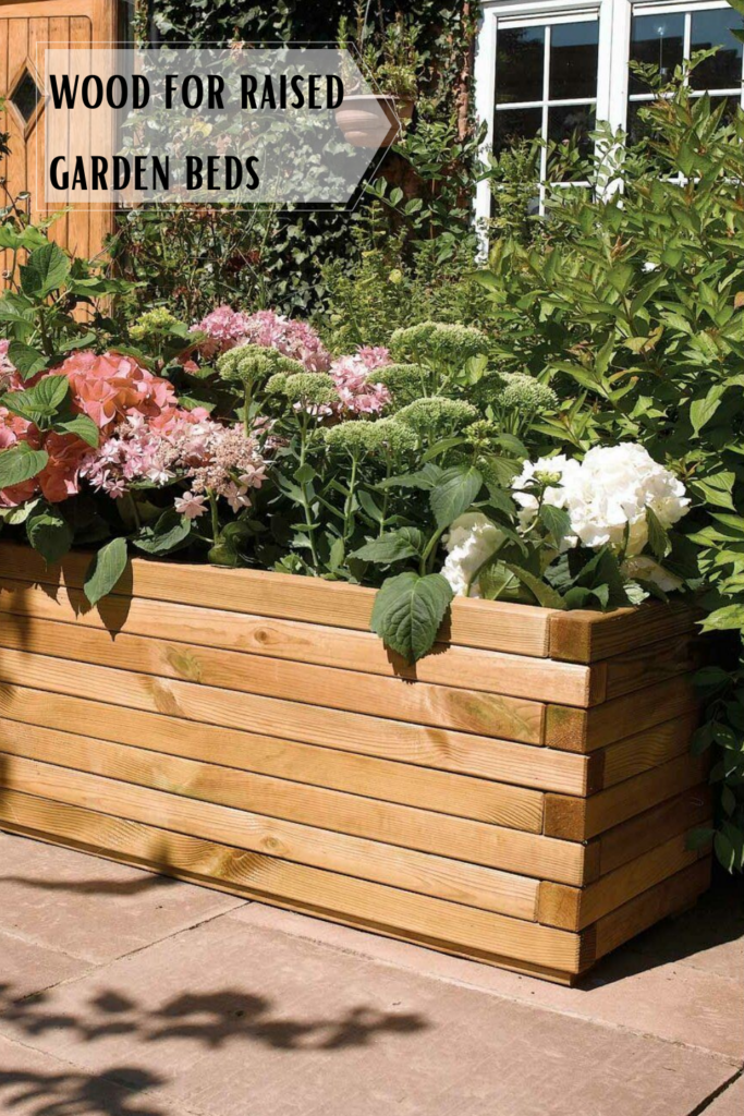 Why you should use wood for raised garden beds