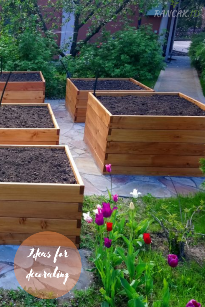 Ideas for decorating your raised garden bed Ideas